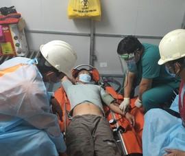 1 ngư dân đau ruột thừa trên biển Hoàng Sa được cứu kịp thời