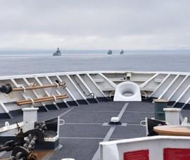 Mỹ: 4 tàu chiến TQ đi vào vùng đặc quyền kinh tế Mỹ ngoài khơi bang Alaska