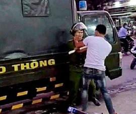 Đồng Nai: Tấn công cảnh sát để 'giải cứu' xe vi phạm