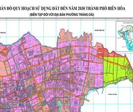 Đồng Nai: Quy hoạch sử dụng đất phải xong trong tháng 3-2021
