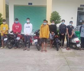 CSGT Đồng Nai vây bắt nhóm đua xe trên quốc lộ