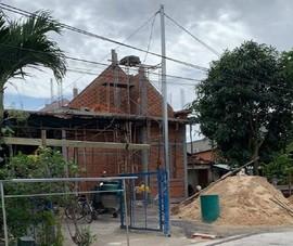 Ngang nhiên xây nhà trái phép trên đất đang tranh chấp ở Bình Dương