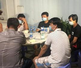 Đồng Nai: 5 người ngồi nhậu trong vùng phong tỏa bị phạt 75 triệu đồng