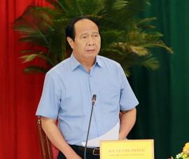 Phó Thủ tướng Lê Văn Thành làm việc với tỉnh Đồng Nai về phòng chống dịch
