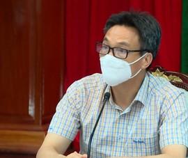 Phó Thủ tướng Vũ Đức Đam làm việc với tỉnh Đồng Nai về phòng chống dịch