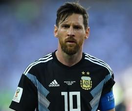 Argentina- Iceland (1-1): Suy sụp với Messi