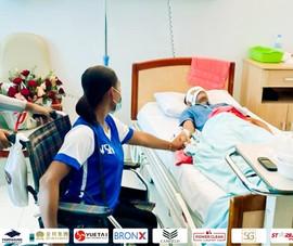 Tuyển thủ Campuchia bị thương nặng, bạn gái qua đời