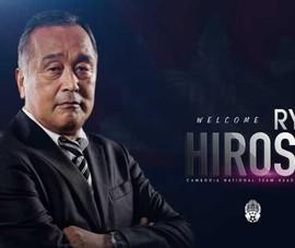 Campuchia có HLV Nhật sẽ đối đầu thầy Park