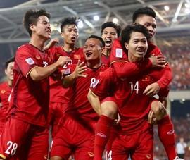 Bóng đá VN tiếp tục đứng đầu Đông Nam Á