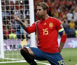 Ramos nằm nhà xem Euro 2020