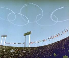 Hình ảnh lung linh đêm khai mạc Olympic Tokyo