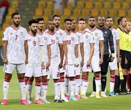 UAE không nói nhiều, chuẩn bị đánh chiếm vị trí 3 bảng A