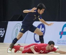 Thái Lan thua Iran 1-5 ở trận chung kết