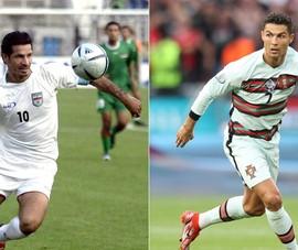 Ali Daei nói gì khi Ronaldo vượt qua 109 bàn?