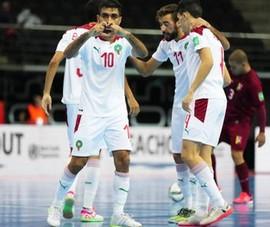 Morocco là đội thứ hai ghi danh vào tứ kết