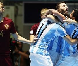 Chung kết sớm Nga – Argentina