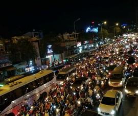 Dừng, đỗ xe ở khu vực cầu Sài Gòn sẽ bị phạt
