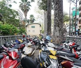 Mở lối tiếp cận bãi giữ xe Công viên Tao Đàn