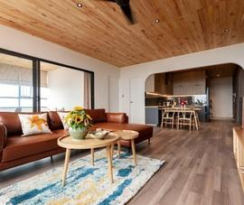 Thiết kế căn hộ 80 m2 đẹp không góc chết