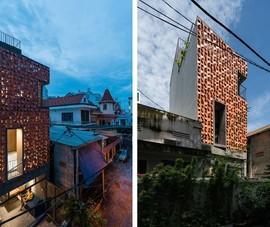 Nhà Sài Gòn hút ánh nhìn nhờ mặt tiền khác lạ