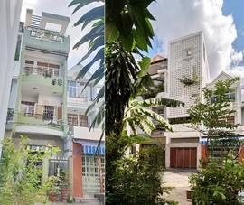 Nhà phố biến hóa hoàn toàn sau cải tạo