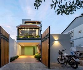 Ngôi nhà ở triền dốc hóa giải như thế nào?