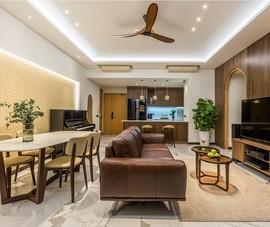 Cải tạo căn hộ chung cư thành tổ ấm siêu ấm áp