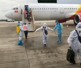 105 người về từ Indonesia được cách ly tập trung tại Sóc Trăng