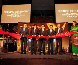 Vietcombank khai trương hoạt động văn phòng đại diện tại Mỹ