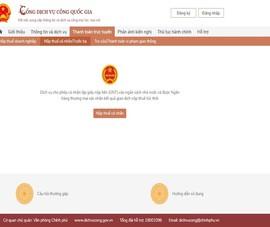 Vietcombank cho thanh toán online trên cổng dịch vụ công