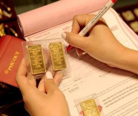 Giá vàng chìm sâu trong sắc đỏ, mất 1,2 triệu đồng/lượng