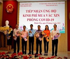 Khánh Hòa: Gần 27 tỉ đồng mua vaccine COVID-19