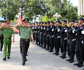 Trung đoàn CSCĐ Tây Nam Bộ: 'Lá chắn thép' của khu vực