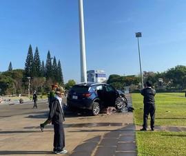 Công an thông tin vụ 'xe điên' tông vào quảng trường ở Gia Lai