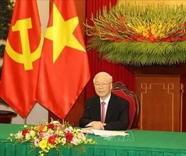 Tổng Bí thư Nguyễn Phú Trọng điện đàm Tổng Bí thư, Chủ tịch nước Tập Cận Bình