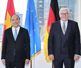 Chủ tịch nước tiếp Tổng thống Đức trước khi về Việt Nam