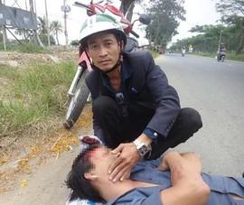 Vụ cô gái bị tai nạn không ai cứu: Tôi đau lắm!
