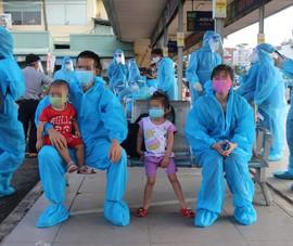 Ninh Thuận: Trẻ em, phụ nữ mang thai bị kẹt ở TP.HCM đã được đưa về quê    