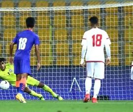 UAE thắng Ấn Độ 6-0, thầy Park càng thêm lo