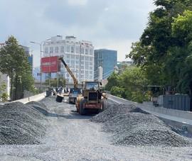 Sắp thông xe dự án nâng cấp đường Nguyễn Hữu Cảnh