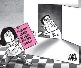 Tặng con gái tài sản để trốn trả nợ