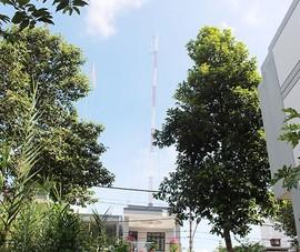 Phạt 30 triệu đồng công ty xây trạm thu phát sóng không phép