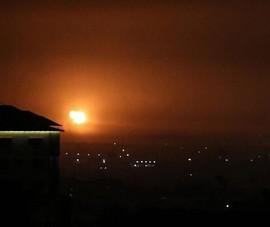 Israel bắn phá Dải Gaza đáp trả vụ Hamas tấn công bằng rocket