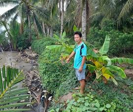 Lo sông sạt lở, dân cản doanh nghiệp khai thác cát