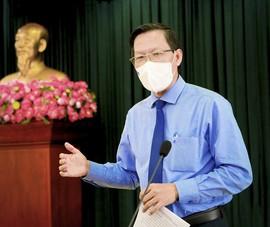 Tân Chủ tịch TP.HCM Phan Văn Mãi: Nỗ lực sớm kiểm soát dịch COVID-19