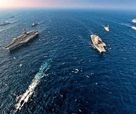 Nhóm Bộ tứ tập trận hải quân gần Biển Đông