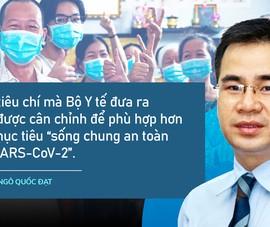 Góp ý về 4 tiêu chí của Bộ Y tế để TP.HCM mở cửa trở lại