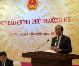 Họp báo Chính phủ: nóng vụ VietJet đón U23 gây phản cảm