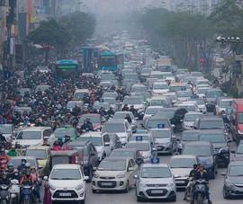 Cuối 2021 sẽ đề xuất lộ trình kiểm soát khí thải ô tô, xe máy