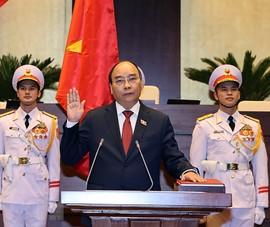 Tân Chủ tịch nước Nguyễn Xuân Phúc nói gì khi nhậm chức?